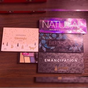 5 PC Eyeshadow Palette Bundle